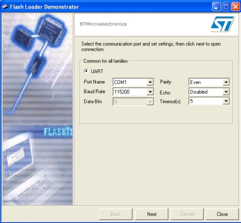 Stm32 flash loader demo download | My Lightweight STM32 UART Flash